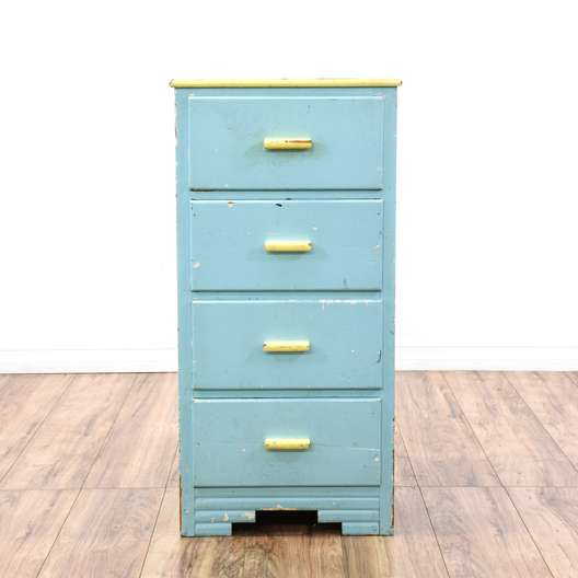 Shabby Chic Pastel Chest of Drawers