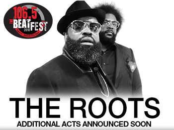 IAH- The Roots, August 4, 2018. Gates 3pm