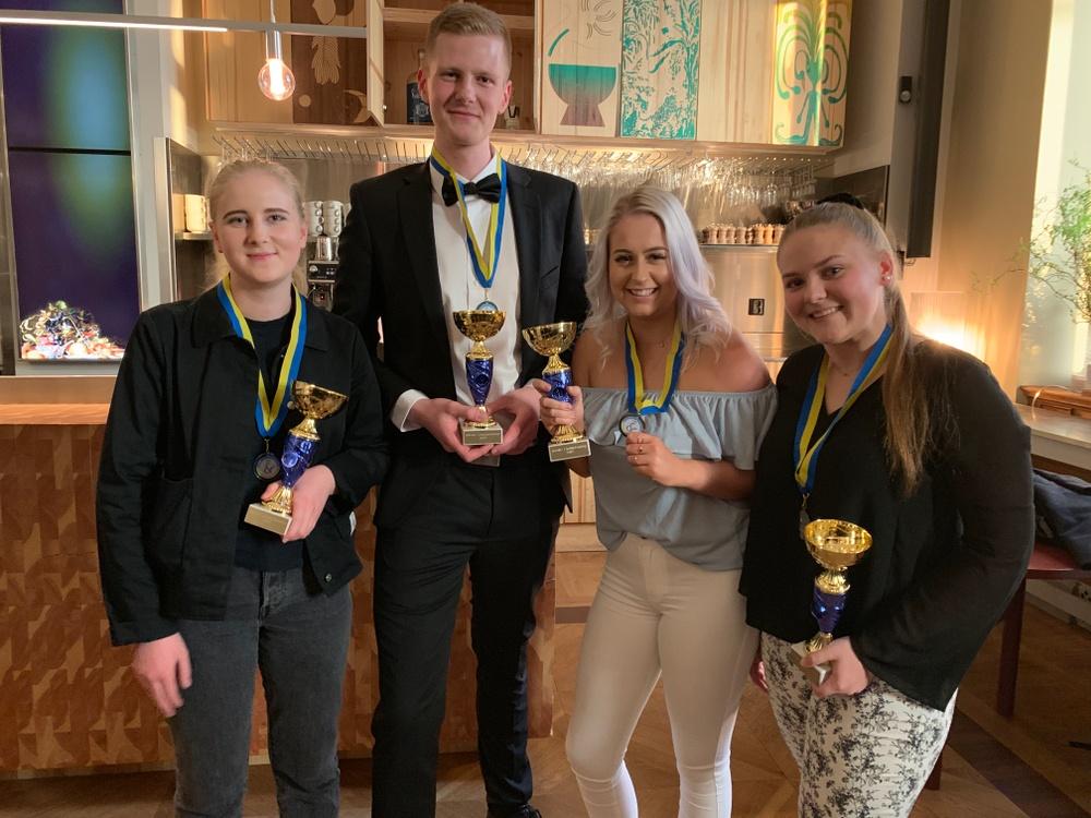 Sverige vann dubbla silvermedaljer i NM.