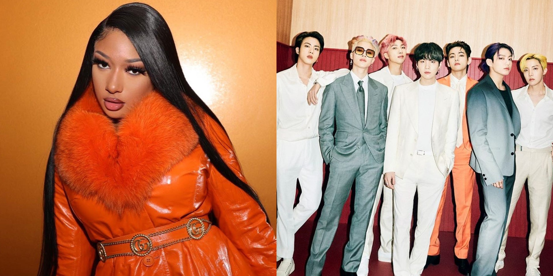 BTS and Megan Thee Stallion are releasing their 'Butter' remix this Friday