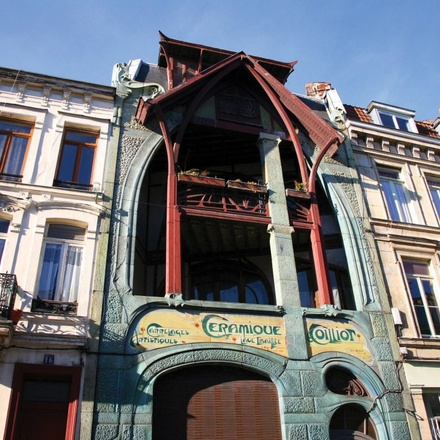 Art Nouveau and Art Deco in Lille and Antwerp