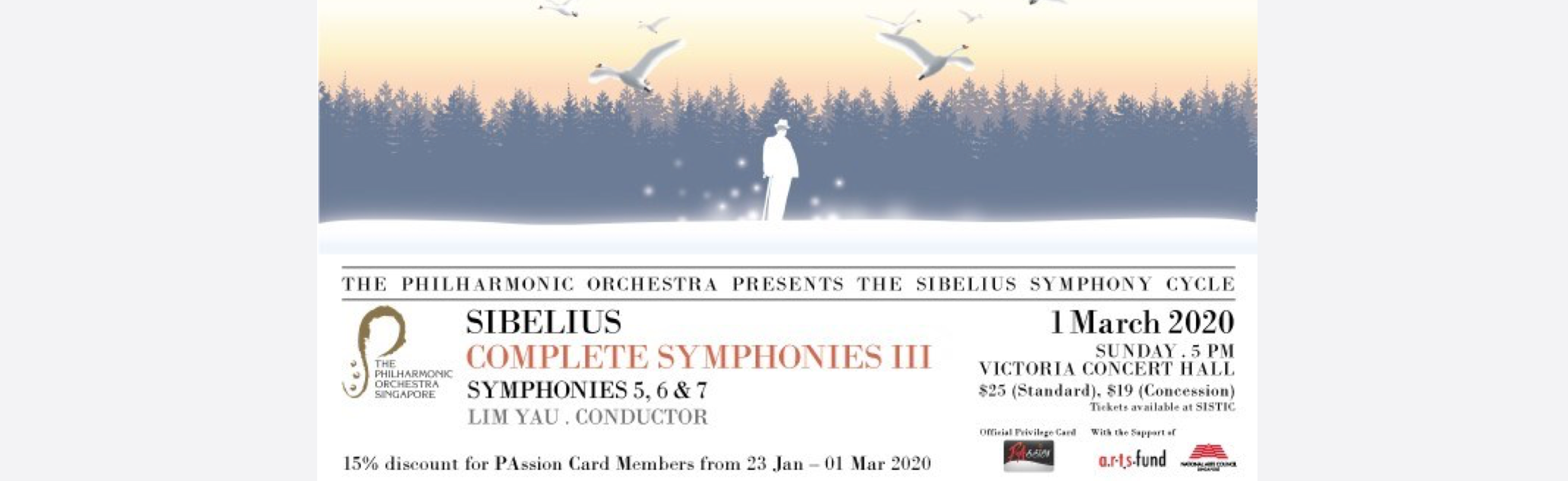 [CANCELLED] TPO presents Sibelius Complete Symphonies (III)