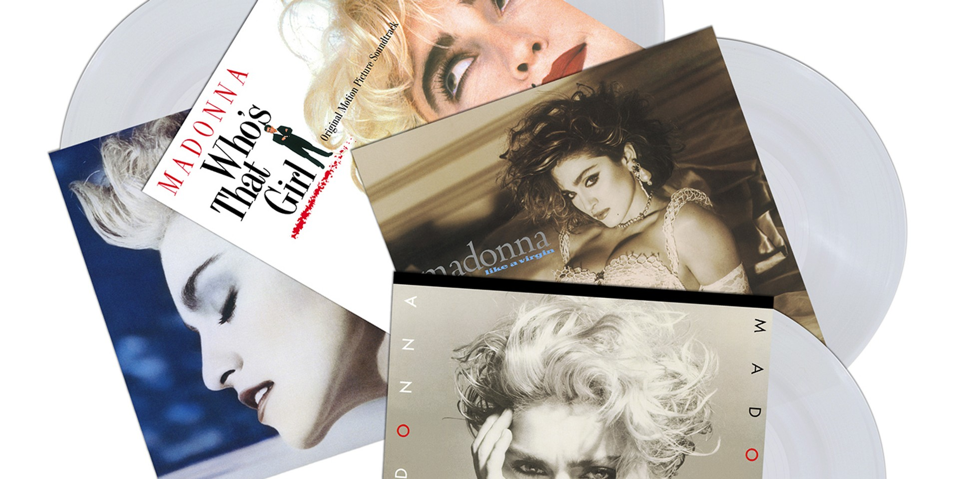 Madonna's first four albums set for release on crystal clear vinyl