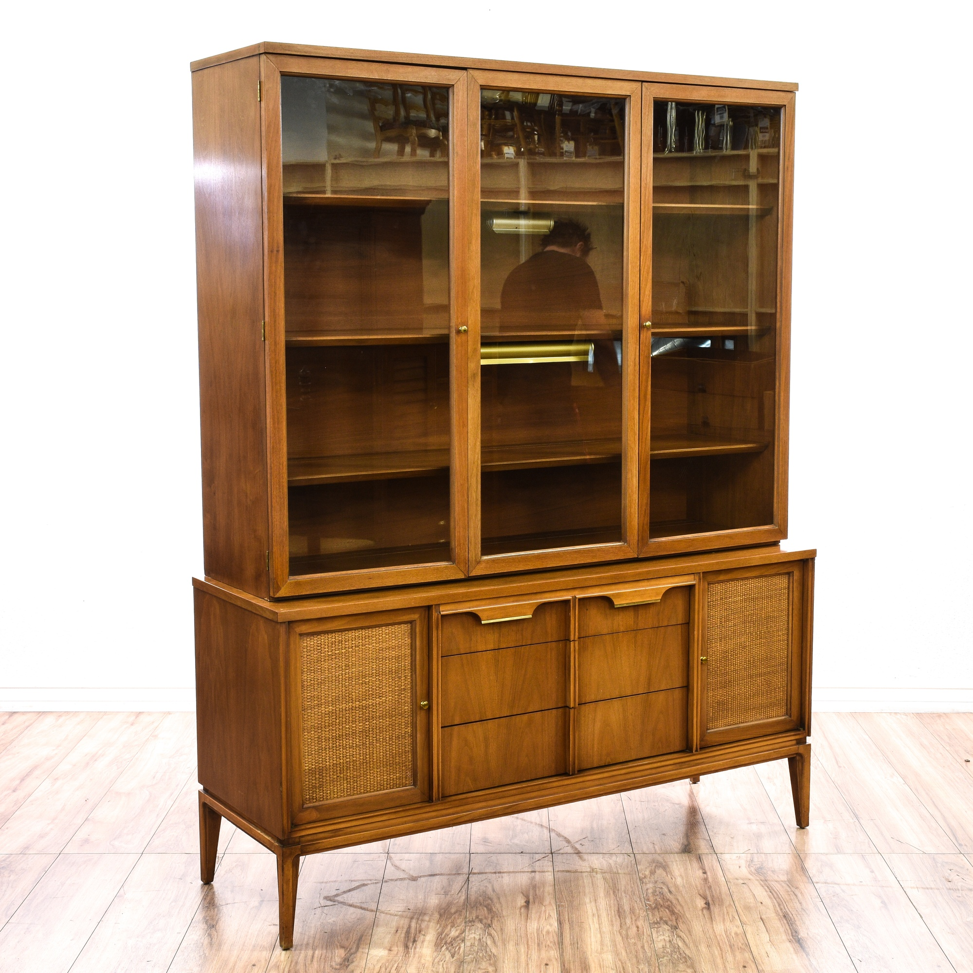 Quot Basic Witz Quot Mid Century China Hutch Cabinet Loveseat