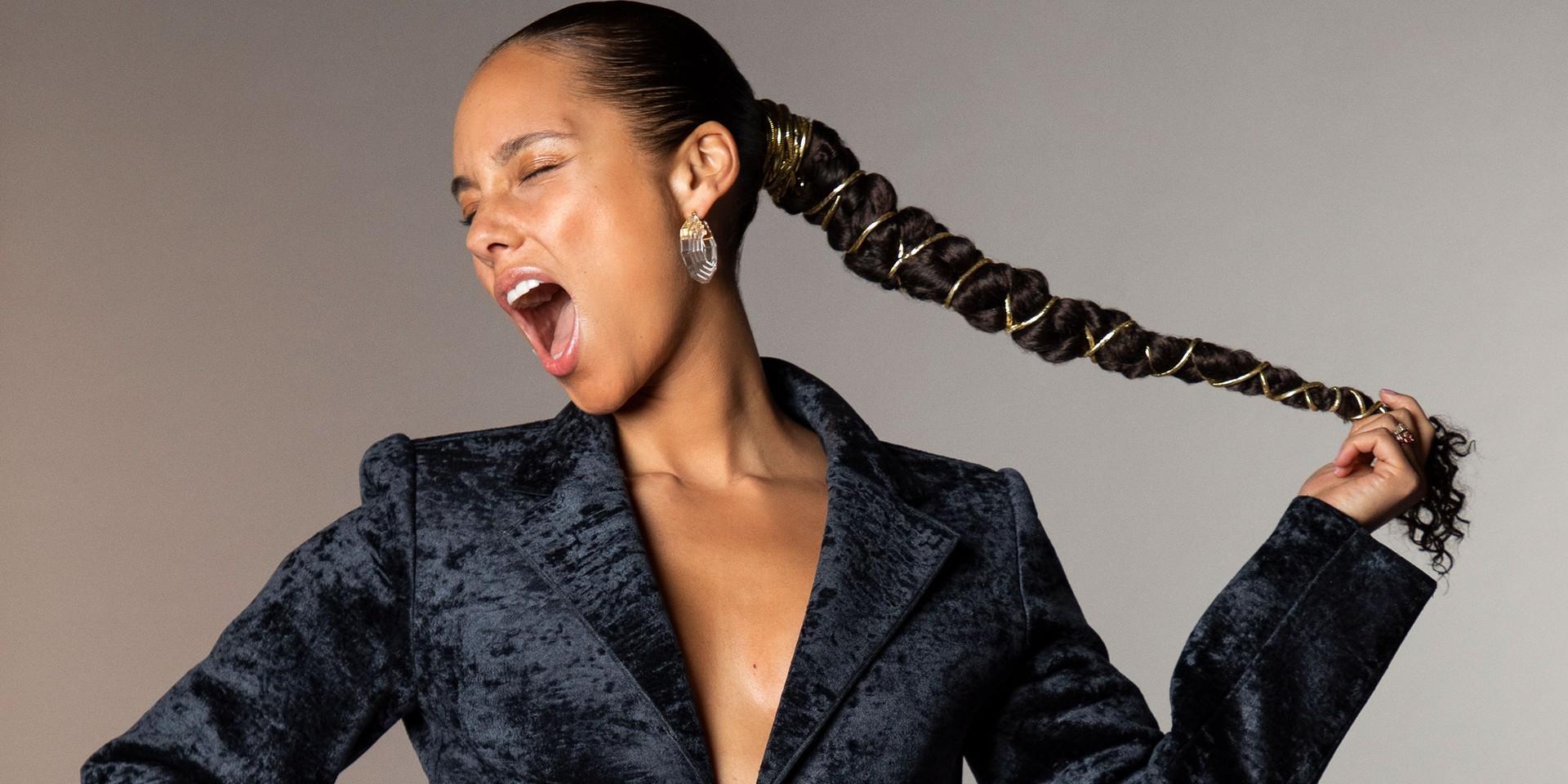 Alicia Keys releases breathtaking new single 'Raise a Man' following Grammys hosting stint