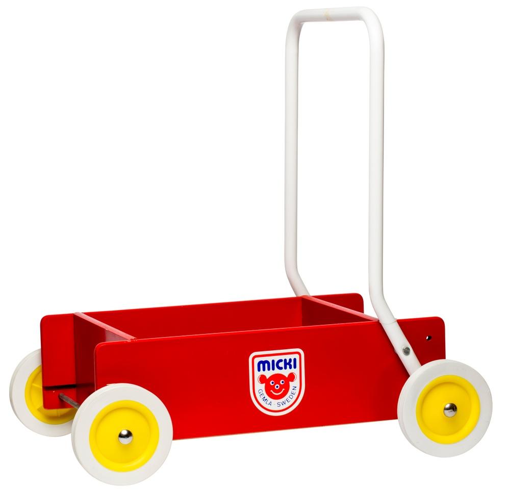 Micki lära-gå-vagn, äldre modell