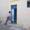 Exterior 1, Slat Rabbi Bezalel, Djerba (Jerba, Jarbah, جربة), Tunisia, Chrystie Sherman, 7/8/16