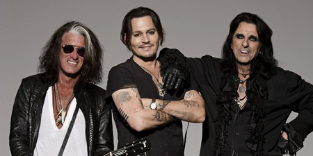 Hollywood Vampires (Alice Cooper, Johnny Depp, Joe Perry) announce upcoming album Rise, release first single 'Who's Laughing Now?' – listen