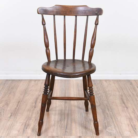 Rustic Oak Windsor Chair