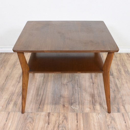 Mid Century Modern 2 Tiered Coffee Table