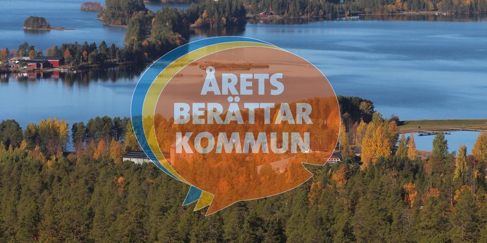Storuman är Årets berättarkommun i Västerbotten 2020/21.