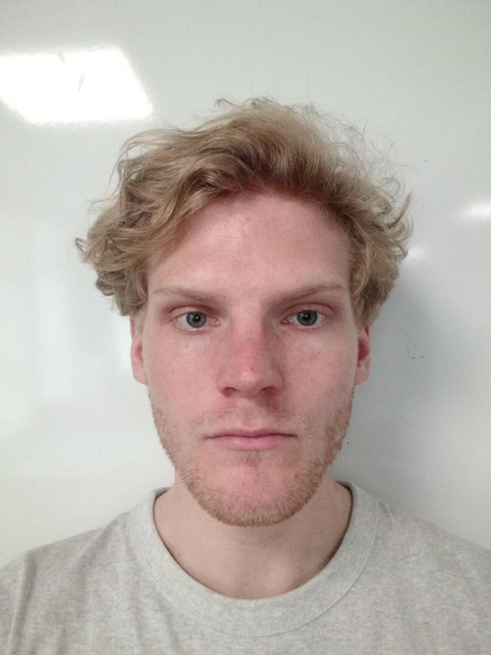 Porträttfoto Ossian Söderqvist.