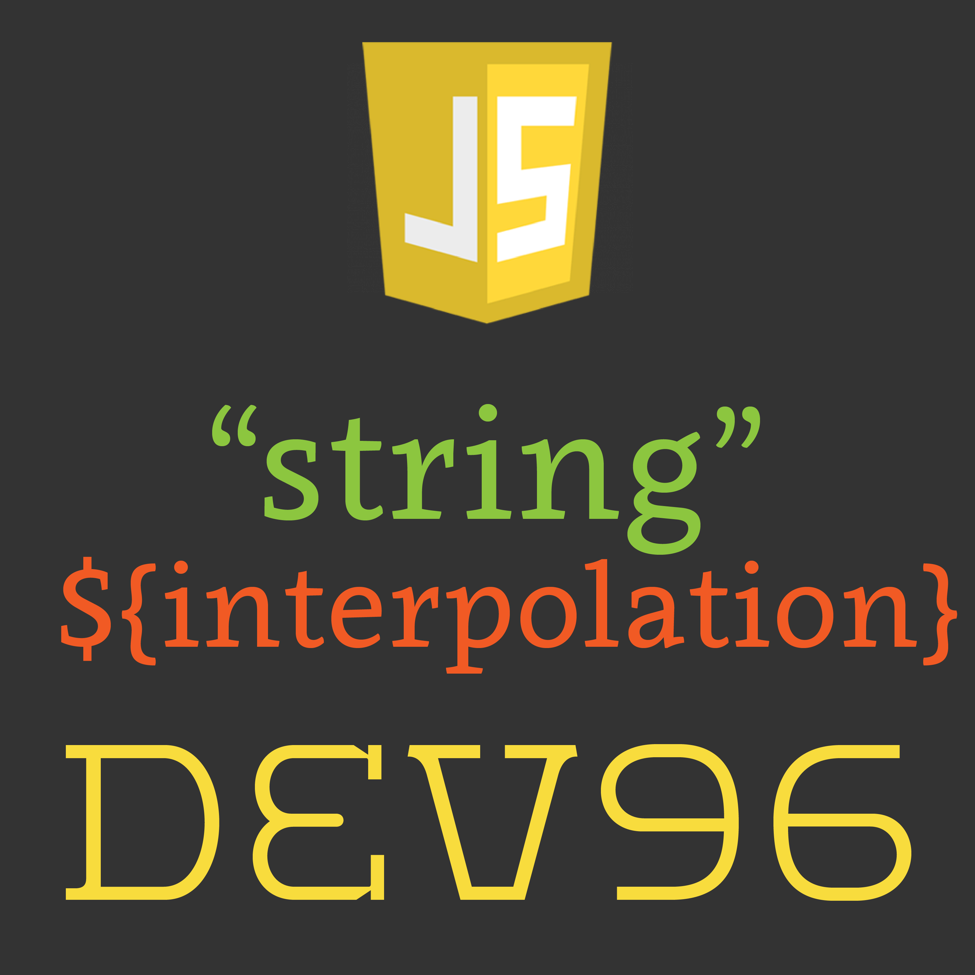 How to do String Interpolation with JavaScript | CampusHippo