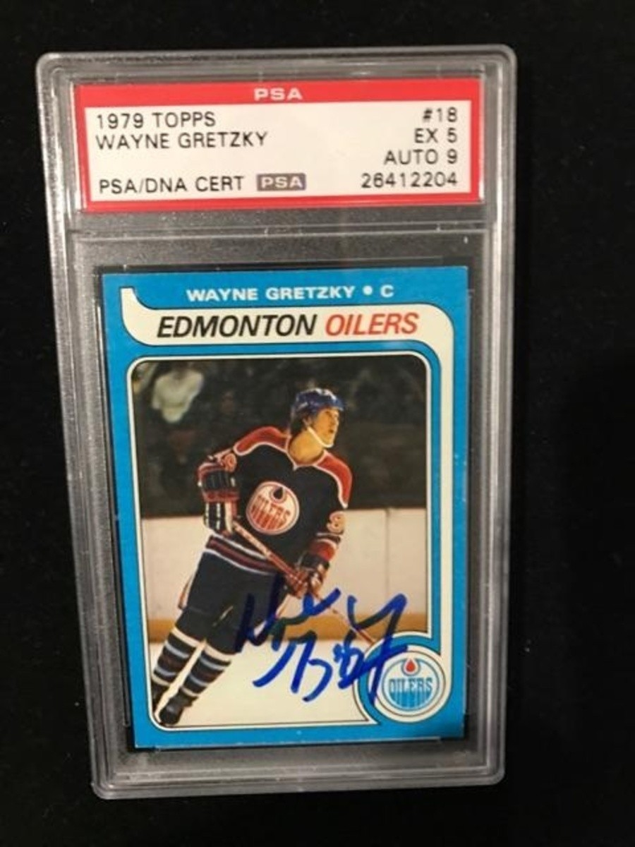 Wayne Gretzky Signed Rookie Card 1979 Topps Collectionzz