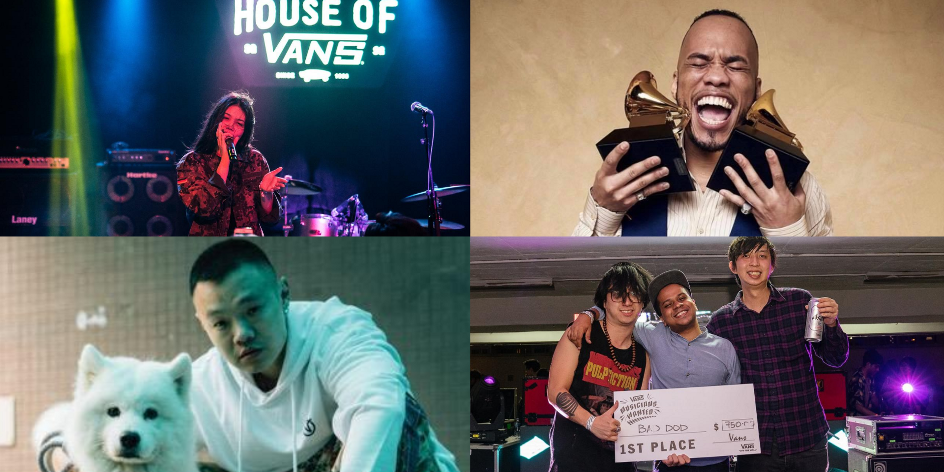 Vans Musicians Wanted 2020 returns to Singapore with online competition and guest judges, Anderson .Paak, Bohan Phoenix, J.I.D, and more