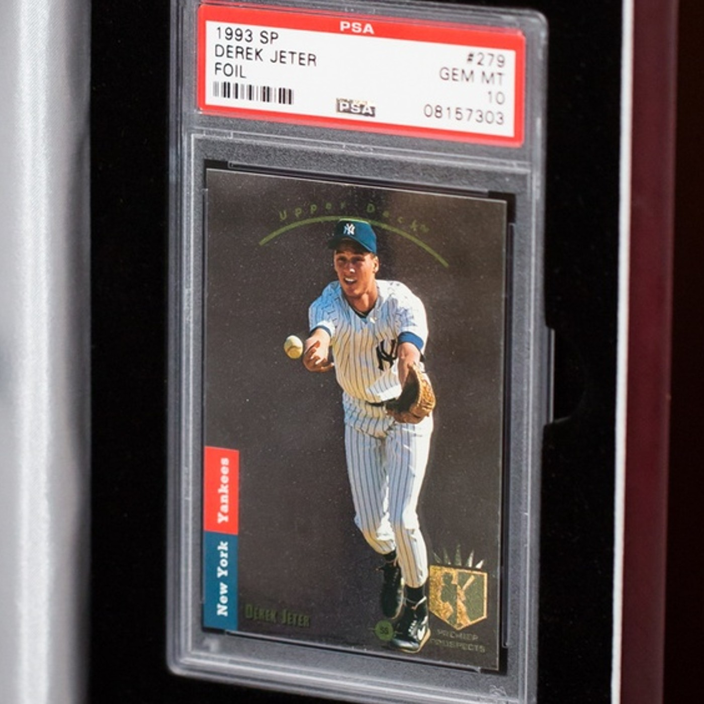 Derek Jeter 1993 Sp Foil Psa 10 Gem Mint Collectionzz