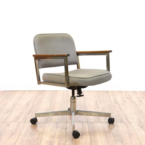 modern chrome office swivel chair loveseat vintage furniture san