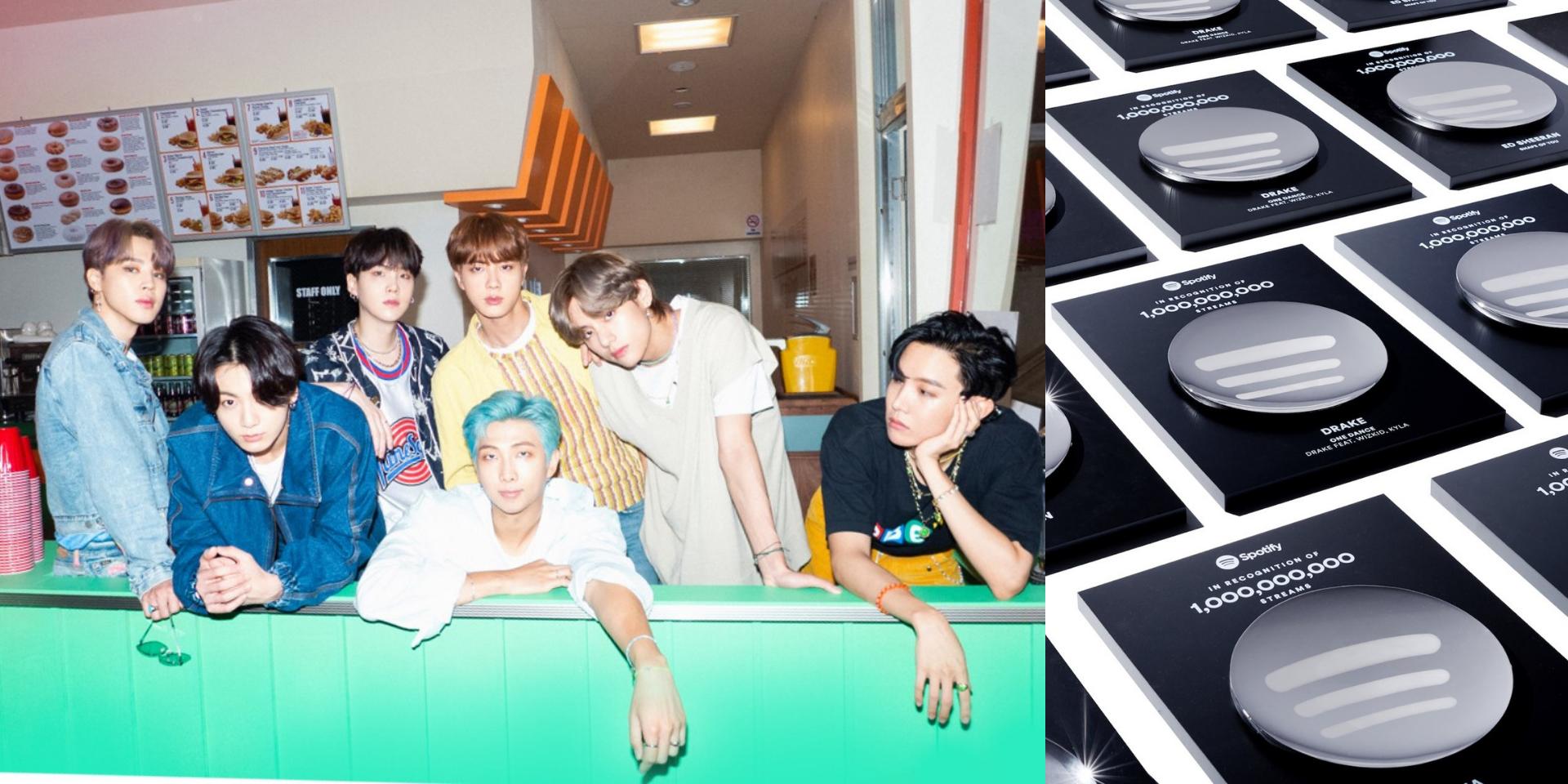 BTS' 'Dynamite' joins Spotify's Billions Club with over 1 billion streams
