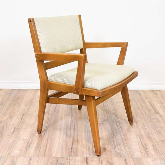 Maple Mid Century Modern Accent Chair