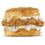 Pork Chop 'N' Gravy Biscuit