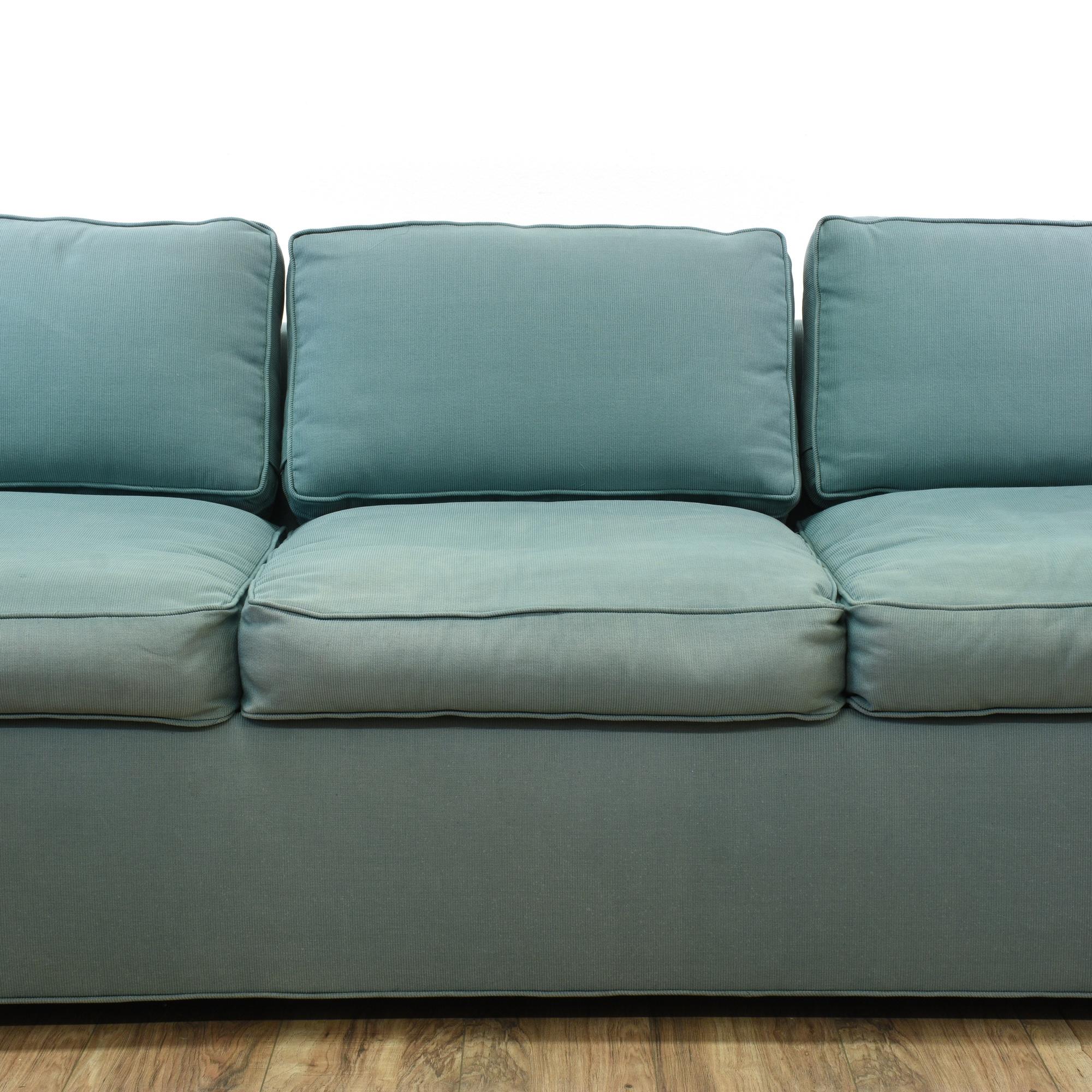 Sleeper Sofa San Francisco: Contemporary Blue Sleeper Sofa Bed