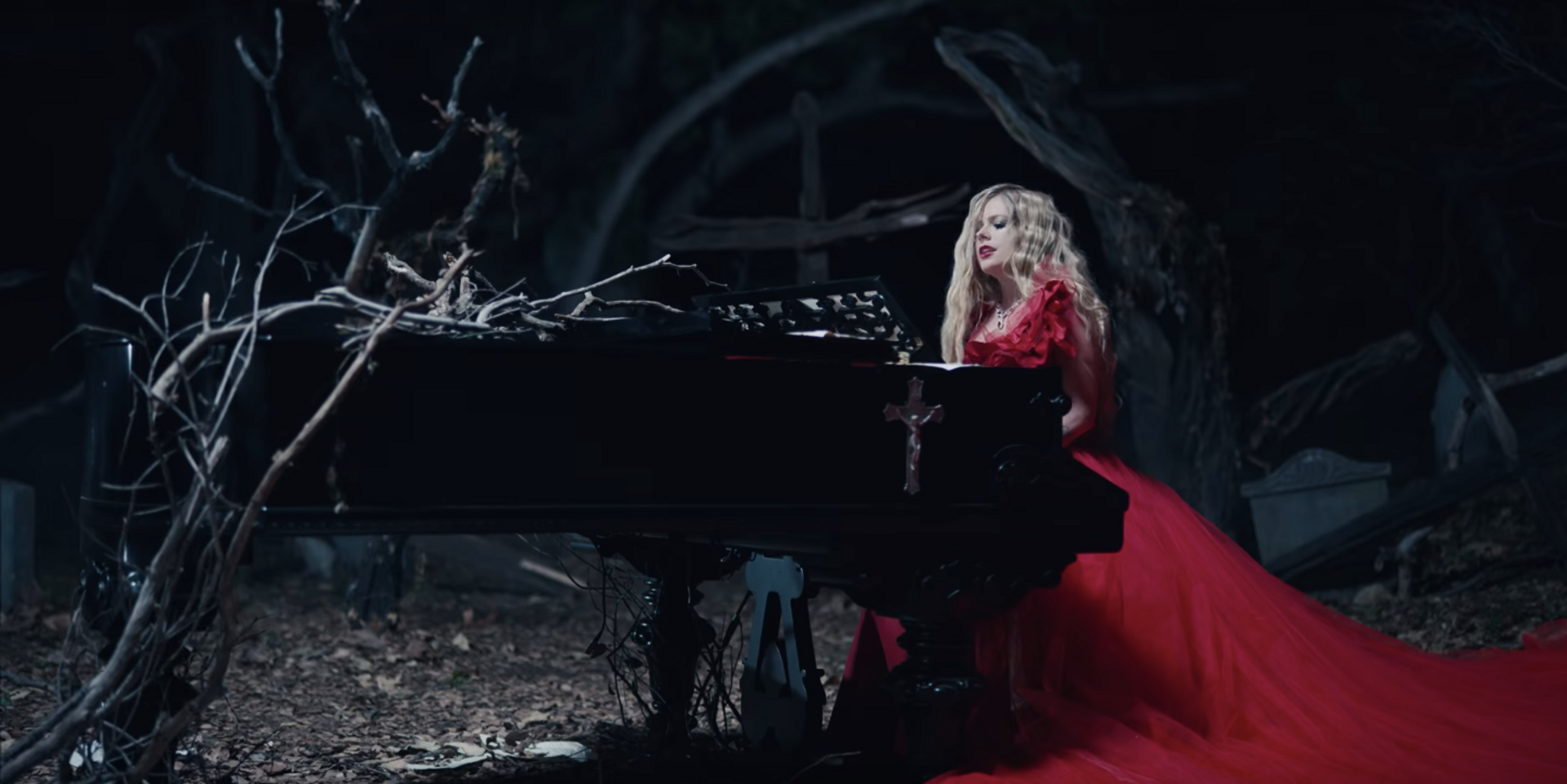 Avril Lavigne releases eerie music video for 'I Fell In Love With The Devil' – watch