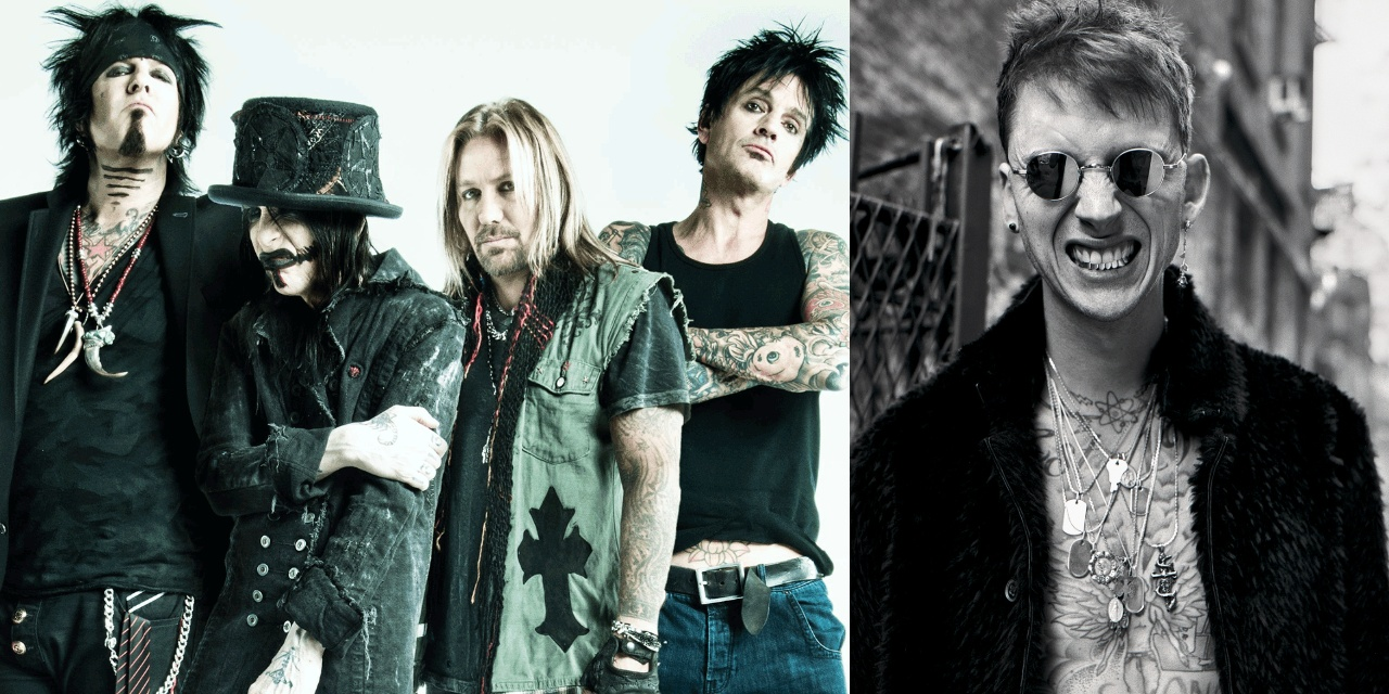 Mötley Crüe has a song with Machine Gun Kelly