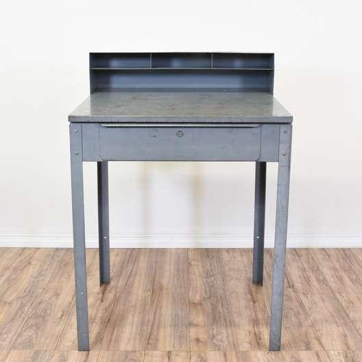Industrial Open Style Foreman's Desk