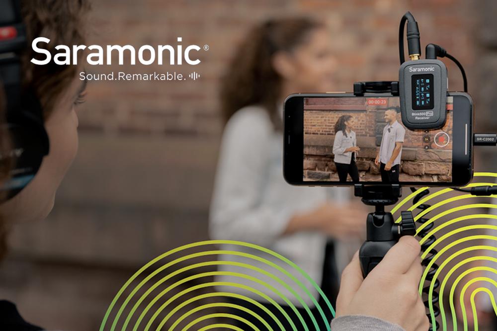 Saramonic revolutionerer igen lydsystemet til content creators