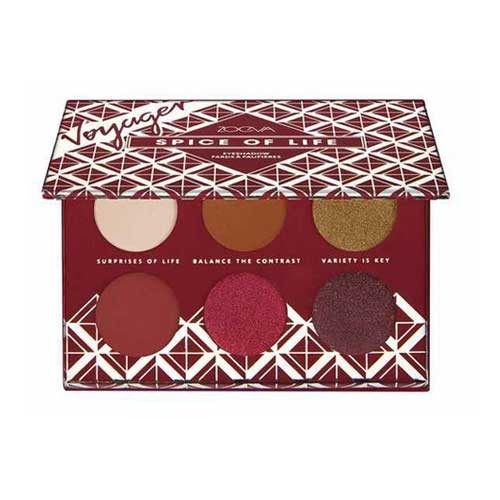 Palette d ombres a paupieres Spice of Life Voyager