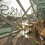 M&S Stratford cafe