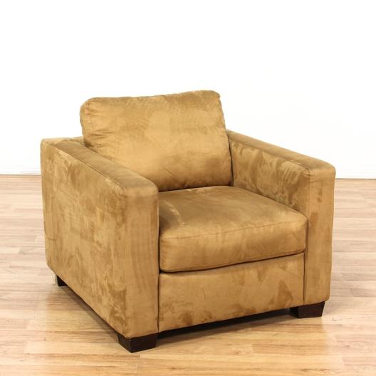 Italsofa Microfiber Upholstered Club Armchair Loveseat Vintage Furniture Los Angeles