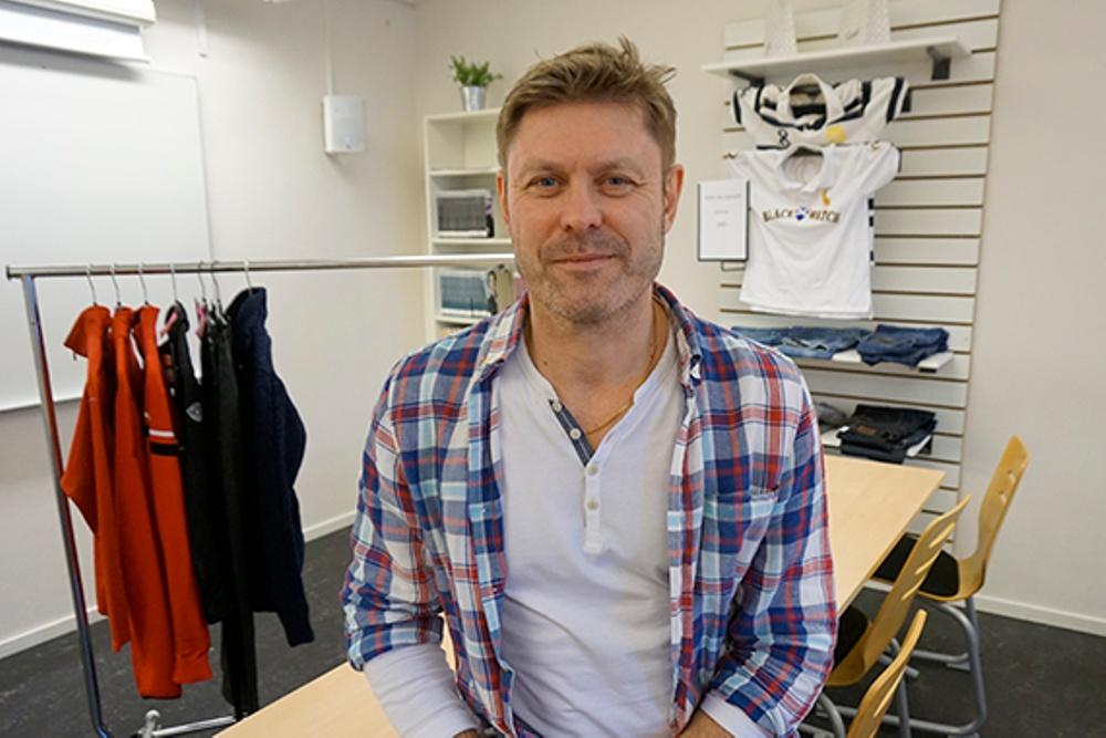 Tonni Videpil, lärare på Drottning Blankas gymnasium i Kristianstad