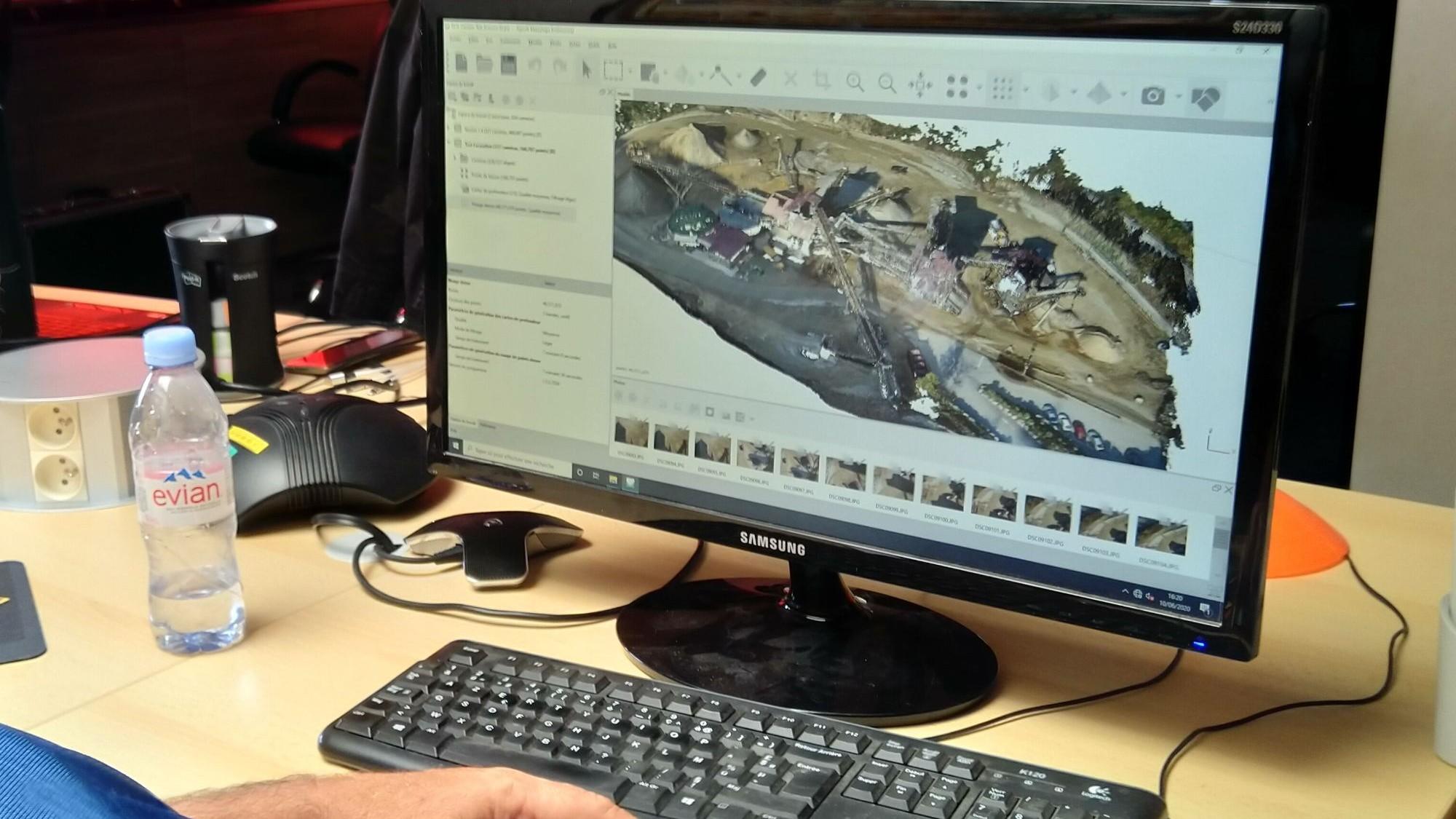 Représentation de la formation : Télépilote de Drone et Photogrammétrie