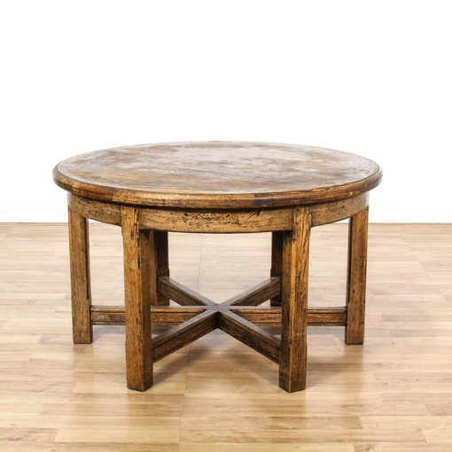 Country Chic Round Dining Table