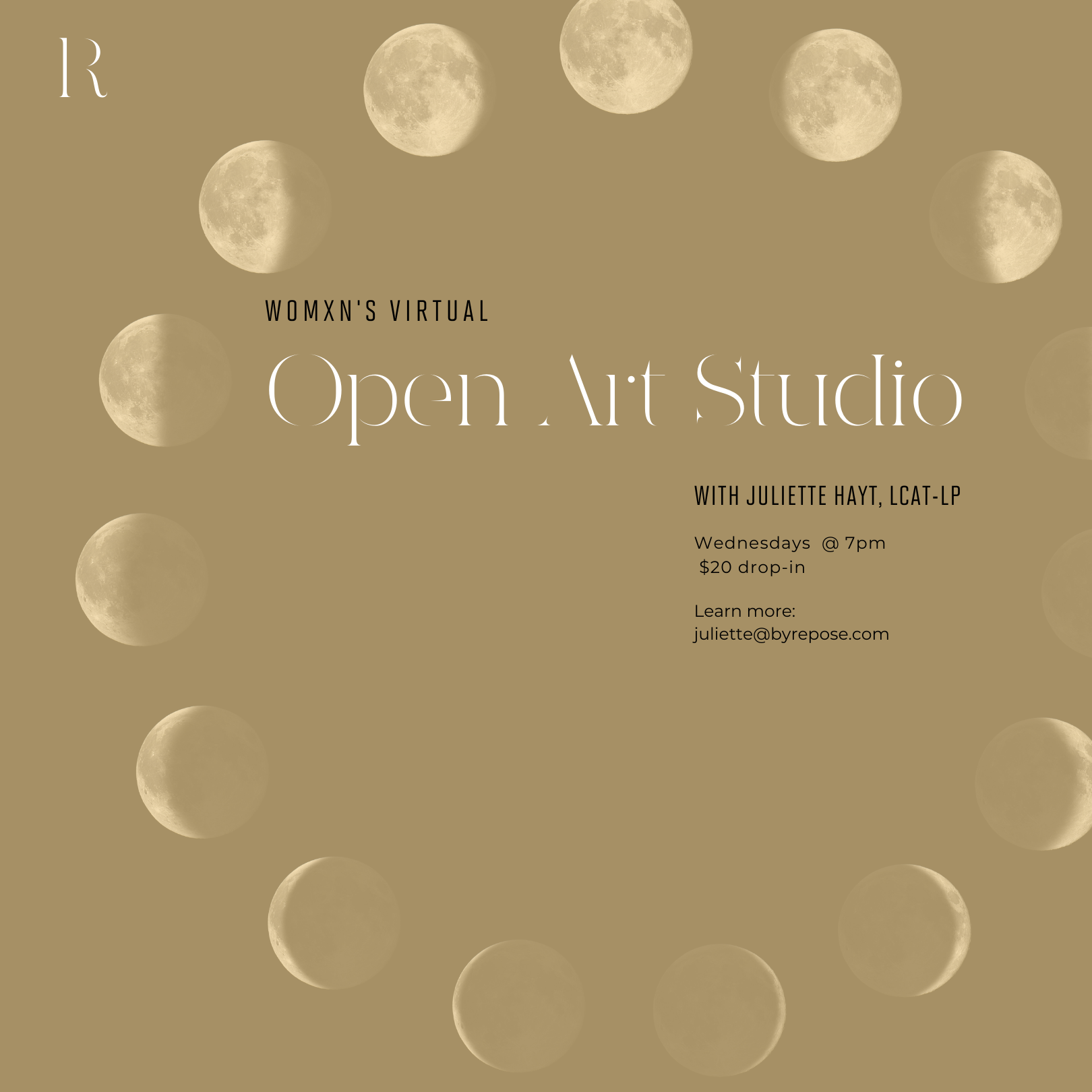 Open Studio: Womxn's Art Circle
