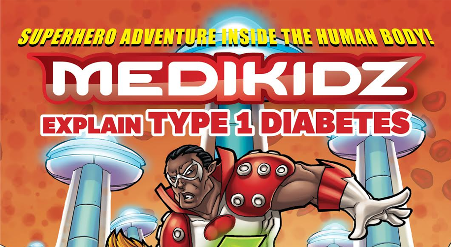 Medikidz Explain Type 1 Diabetes cover
