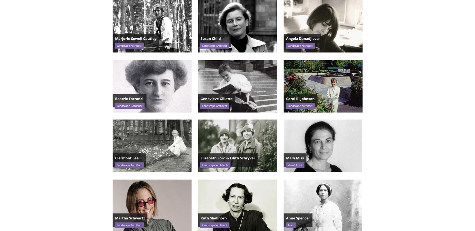 Landslide 2020: Women Take the Lead - Landslide 2020 hot links to biographies
