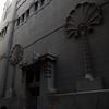 Side entrance door, Shaar Hashamayim (Adly St) Synagogue, Cairo, Egypt. Joshua Shamsi, 2017.