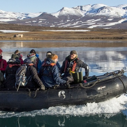 NORTHEAST GREENLAND - INTO THE NATIONAL PARK