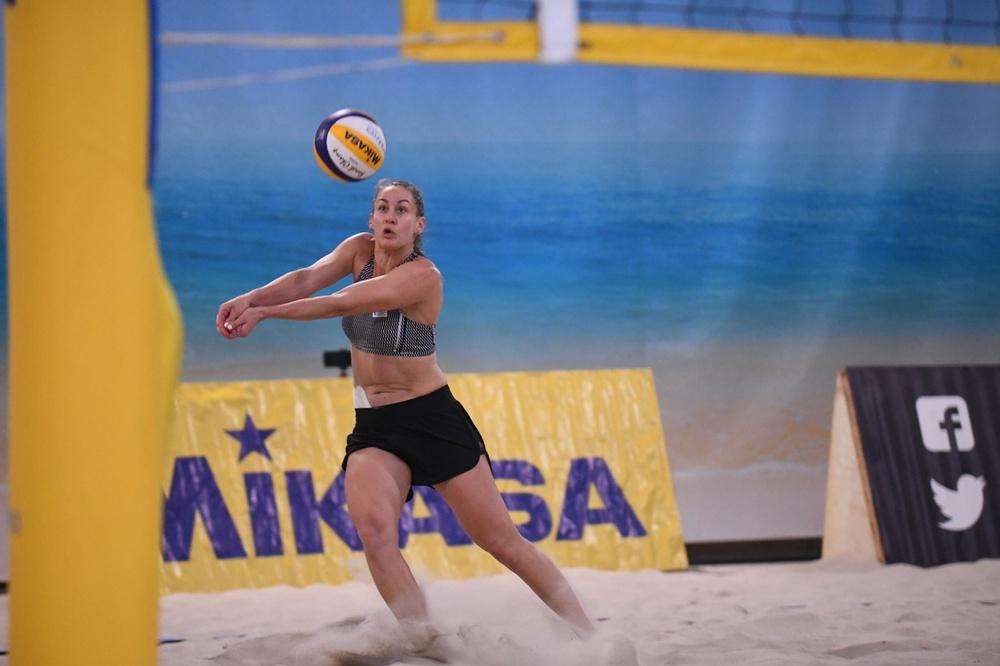 Sigrid Simonsson i aktion. Foto: Johanna Svensson