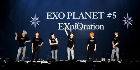 EXO to return to Singapore next month on its EXO PLANET #5 – EXplOration tour