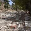 Grave Sites 3, Cemetery, Le Kef (El Kef, الكاف), Tunisia, Chrystie Sherman, 7/21/16