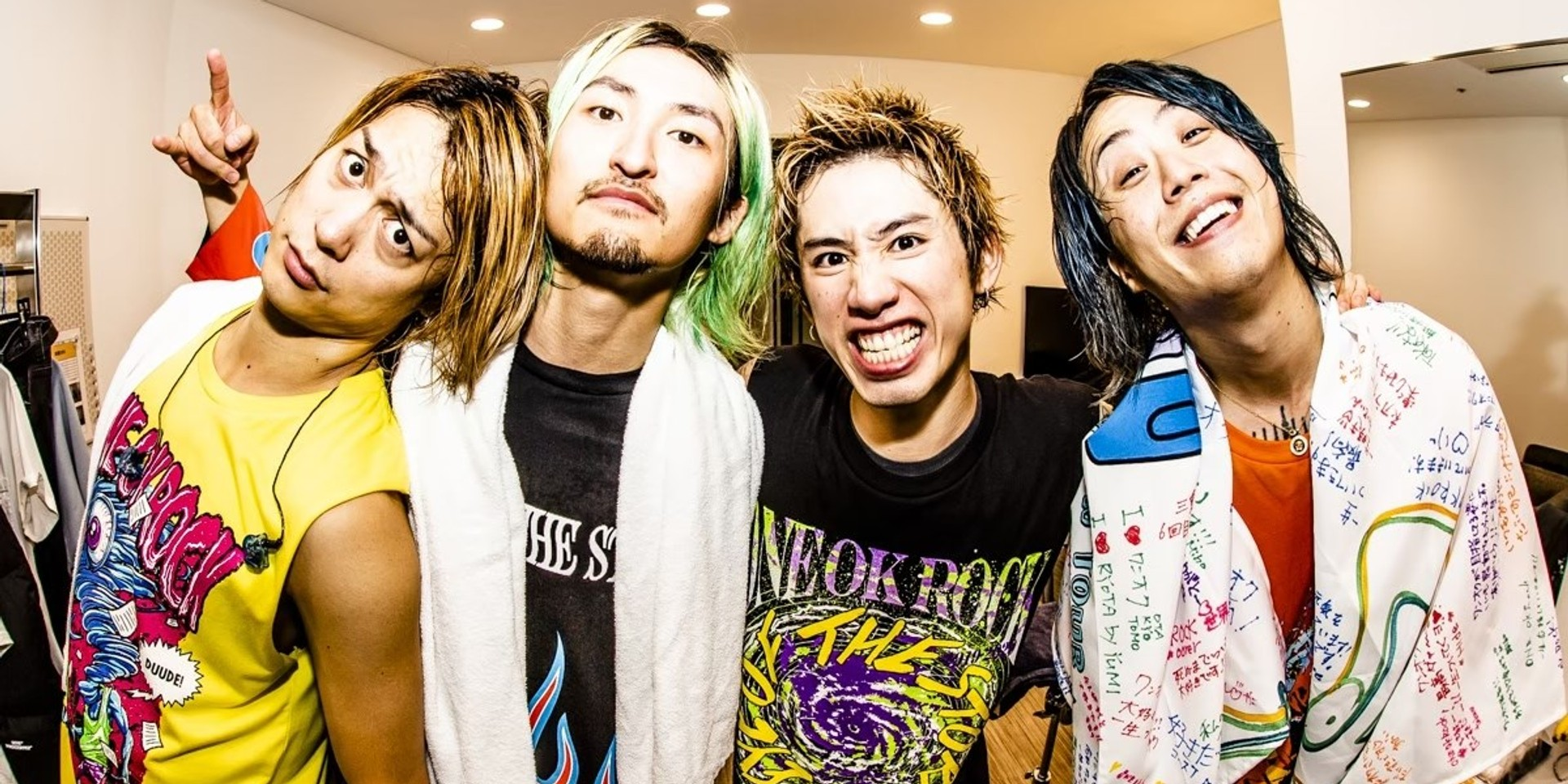 Ticket sales for ONE OK ROCK postponed to a later date
