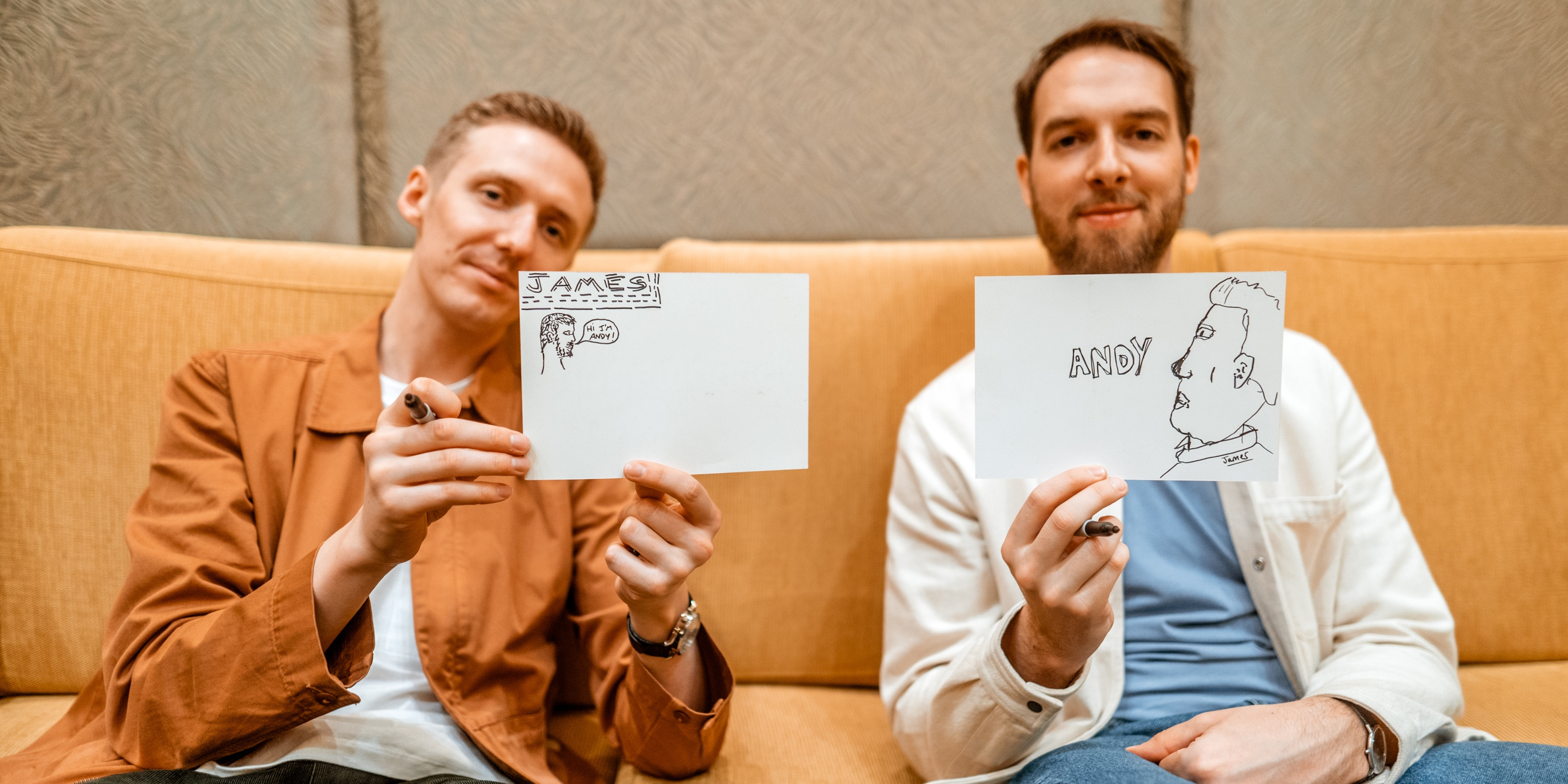 Bandwagon Doodles: HONNE talks memorable gigs in Asia, best collaborations, and favorite songs from their albums