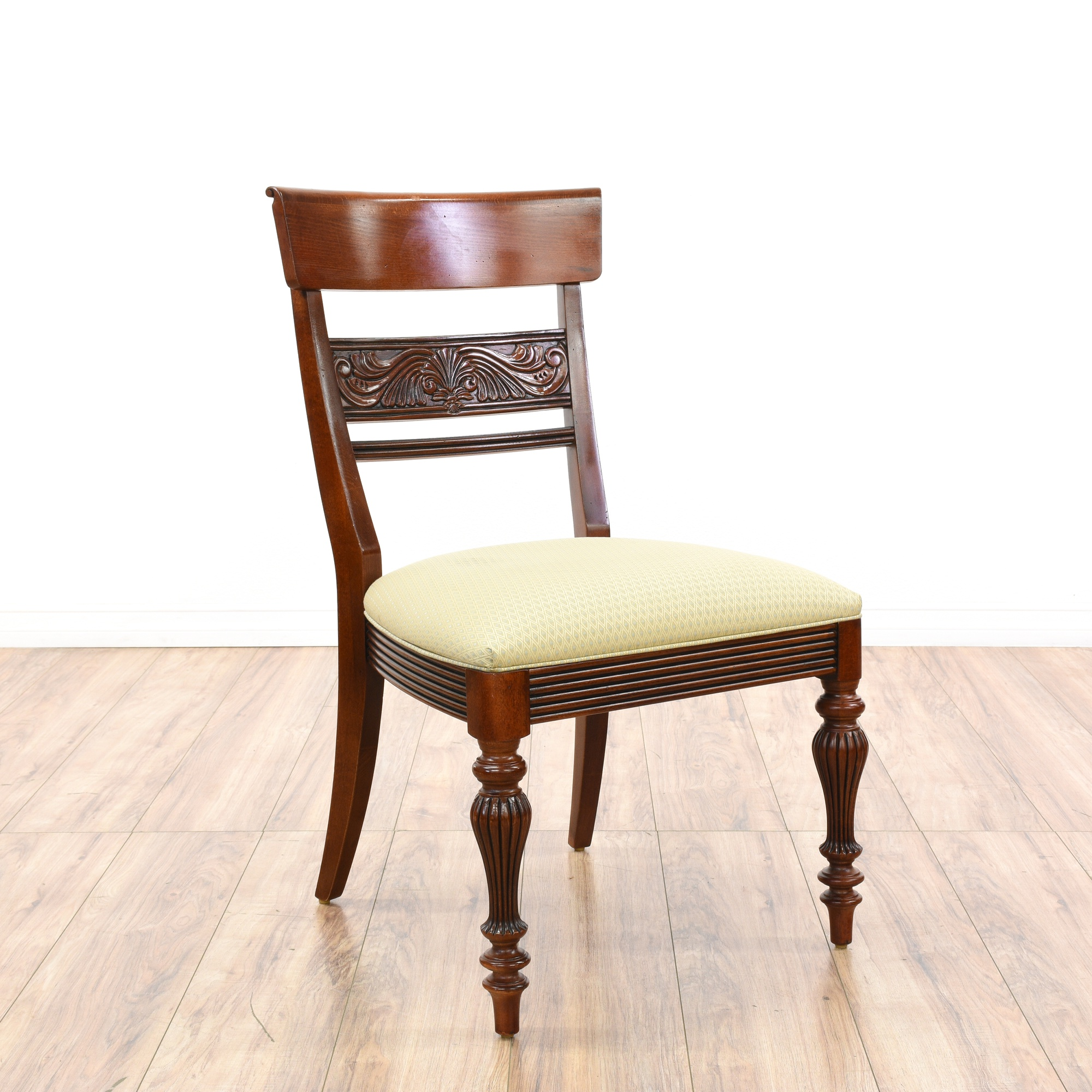 "Wonderful Ethan Allen Dining Room Chairs For Traditional: Set Of 4 Traditional ""Ethan Allen"" Dining Chairs"