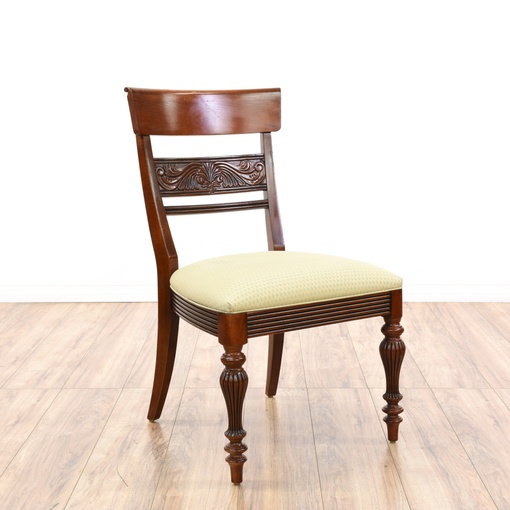"""Set Of 4 Traditional """"Ethan Allen"""" Dining Chairs"""