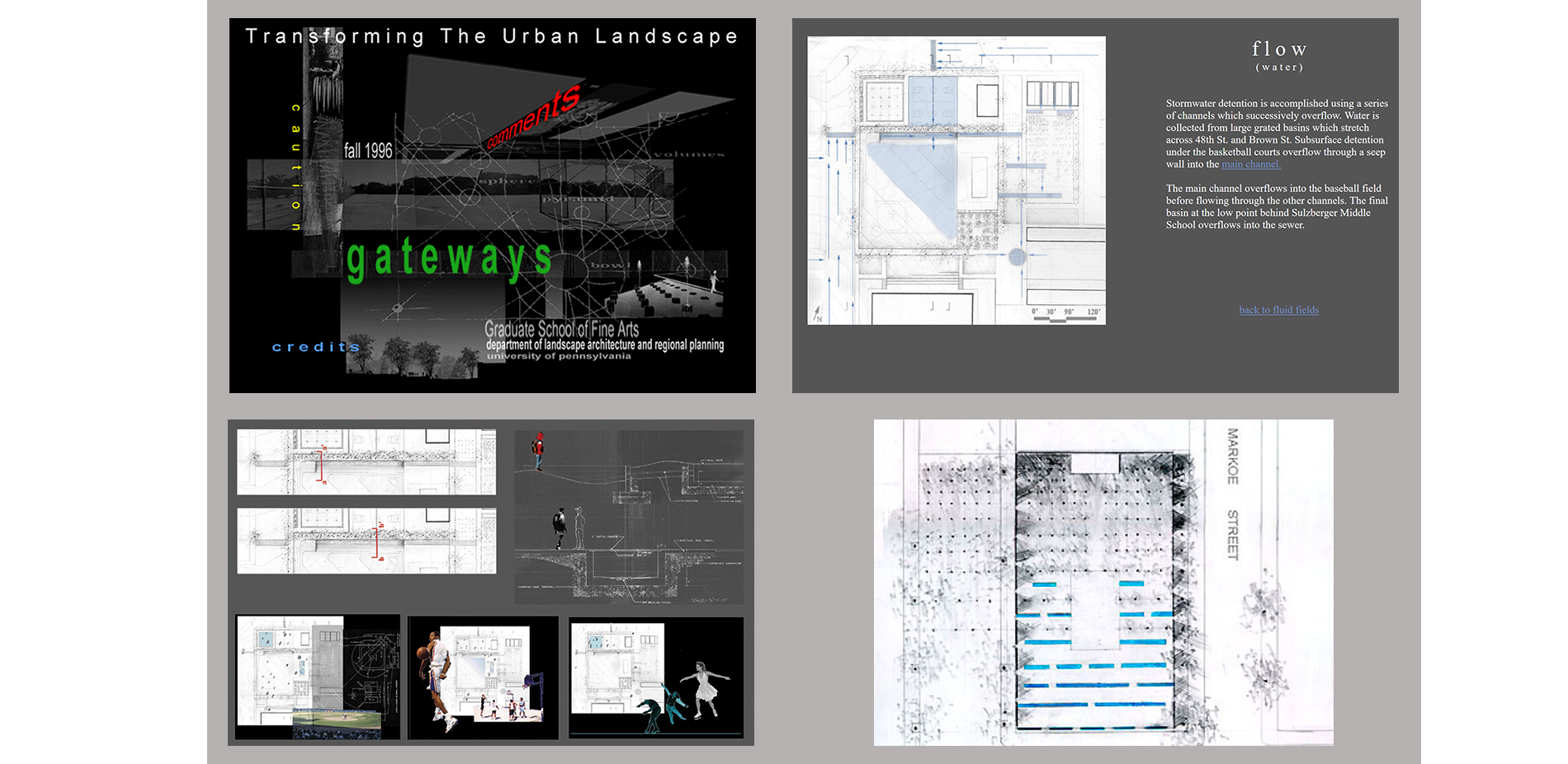 Transforming the Urban Landscape Studio (1996-1998)
