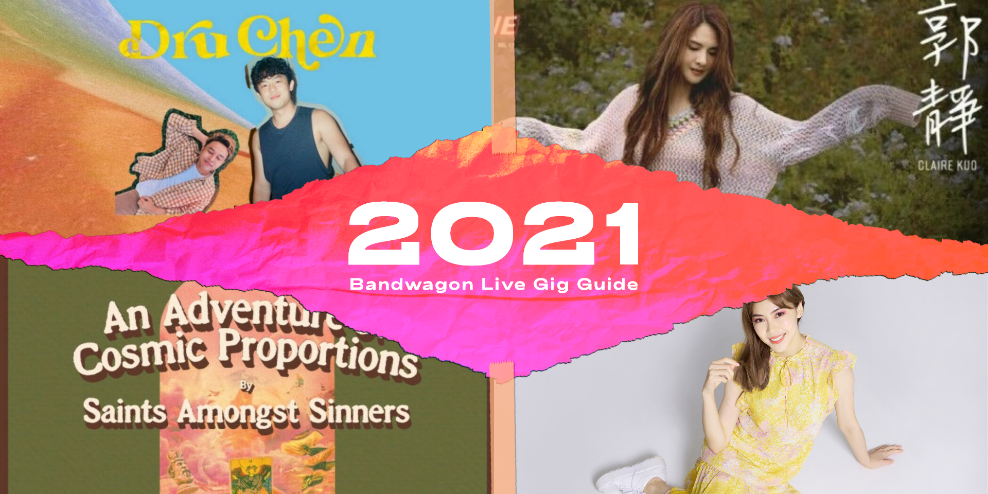 Live gigs and concerts to catch in Singapore in 2021 — Bitty, Claire Kuo, MICappella, and more