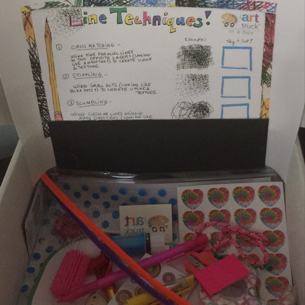 September - Back to School Creativity Box